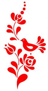 ungarische vogelmotiv